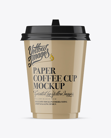 Download Glossy Coffee Cup Mockup Object Mockups