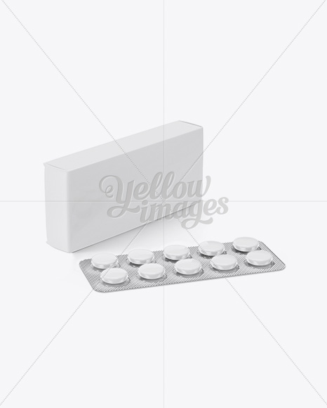 Download Matte Box Pills Mockup Half Side View PSD - Free PSD Mockup Templates