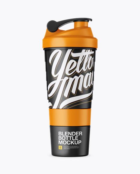 Download Matte Shaker Bottle Mockup Object Mockups