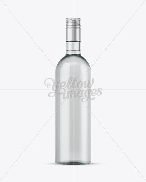 Download 700ml Dark Green Glass Bottle Mockup PSD - Free PSD Mockup Templates