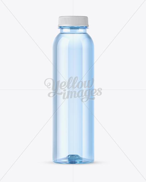 Download Blue Pet Bottle With Water Mockup In Bottle Mockups On Yellow Images Object Mockups PSD Mockup Templates