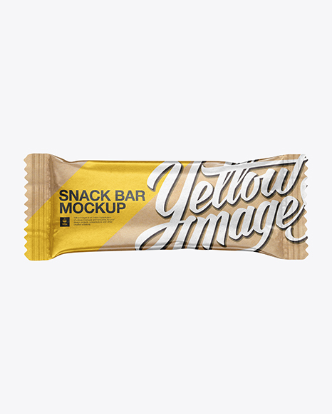 Download Kraft Snack Bar Mockup Object Mockups