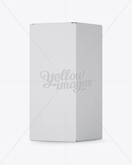 Download Carton Pillow Box Mockup Halfside View High Angle Shot PSD - Free PSD Mockup Templates