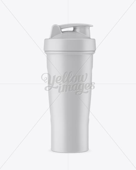 Matte Shaker Bottle - Front View