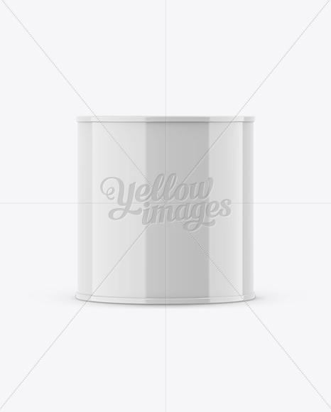0,75L Glossy Paint Bucket Mockup