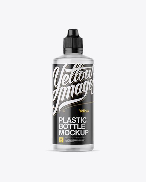 Download Clear Plastic Bottle Mockup Object Mockups