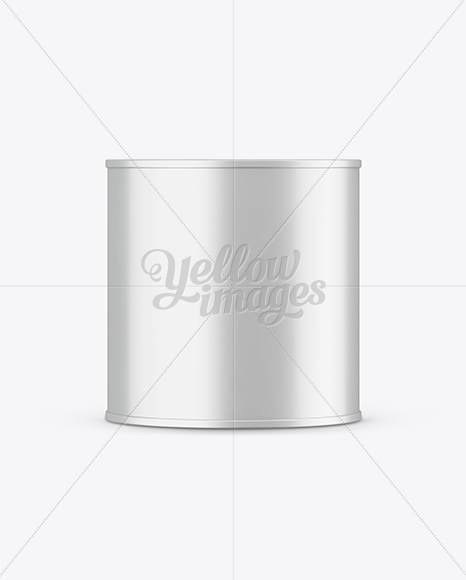 0.75L Metallic Paint Bucket Mockup