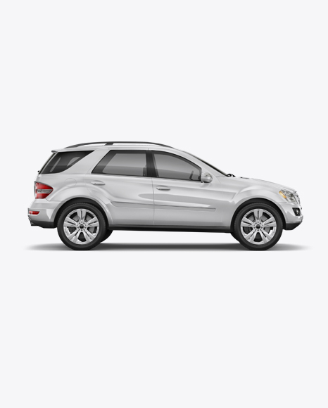 Download Mercedes-benz ML Mockup - Right view Object Mockups