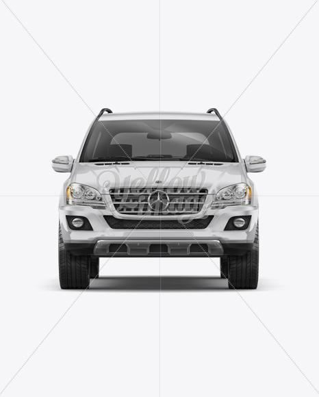 Mercedes-Benz ML Mockup - Front view