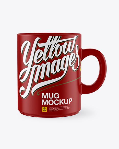 Download Matte Mug Mockup Object Mockups