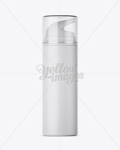 Download Matte Bottle Mockup Front View PSD - Free PSD Mockup Templates