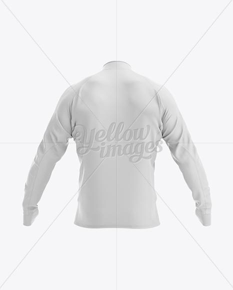 Long Sleeve Jersey Mockup - Back View
