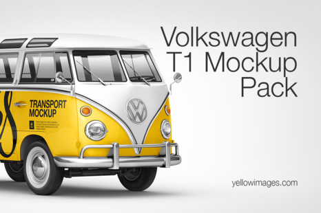 Download Popular Vehicle Mockups On Yellow Images Creative Store PSD Mockup Templates