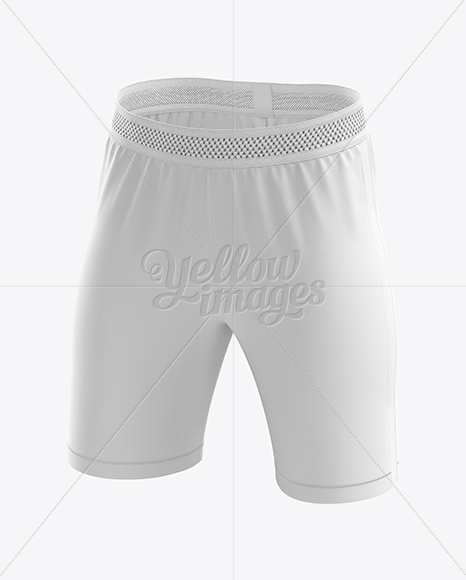 Men's Soccer Shorts mockup (Half Side View)