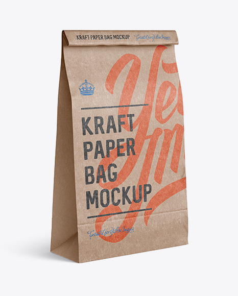 Download Packaging Paper Bag Mockup Free Yellow Images