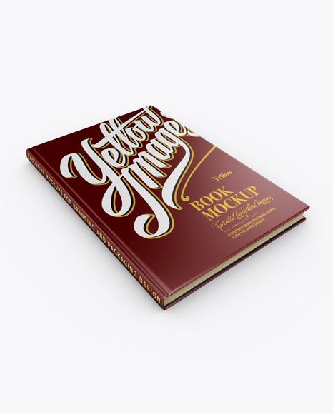 Matte Book Mockup