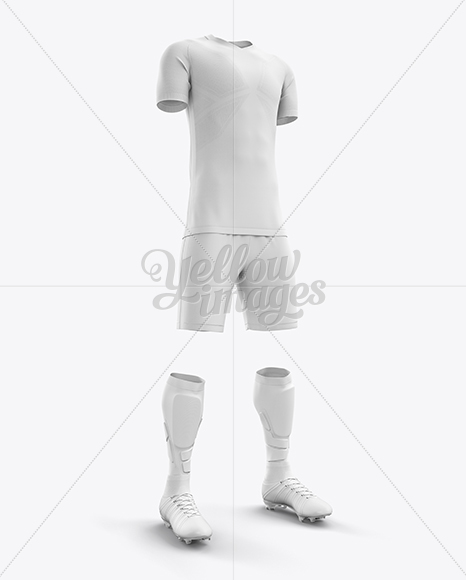 Download Soccer Cleats Mockup Side View Yellowimages