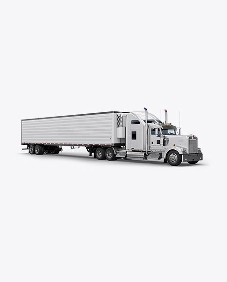 Kenworth Refrigerator Truck HQ