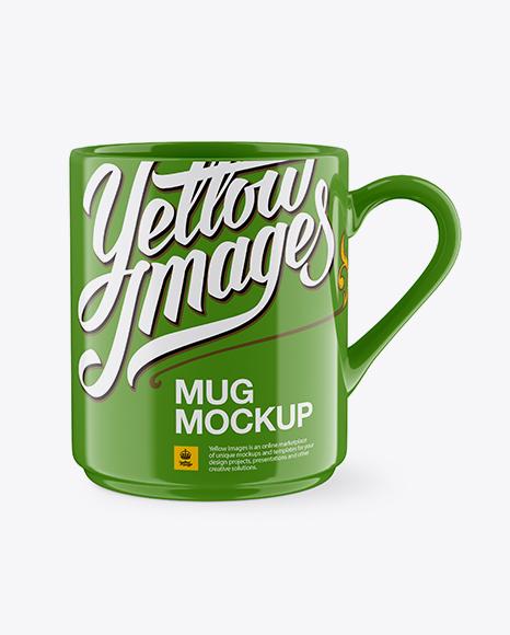 Download Glossy Mug Mockup Object Mockups