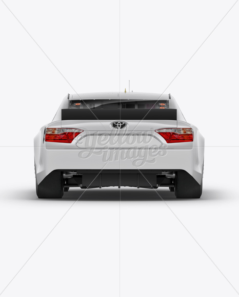 Download Nascar Camry Back View Mockup In Vehicle Mockups On Yellow Images Object Mockups Yellowimages Mockups