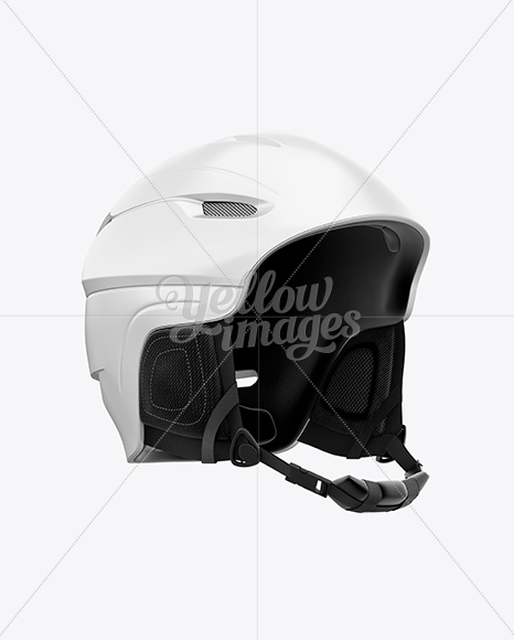 Download Ski Helmet Mockup Back View Yellowimages