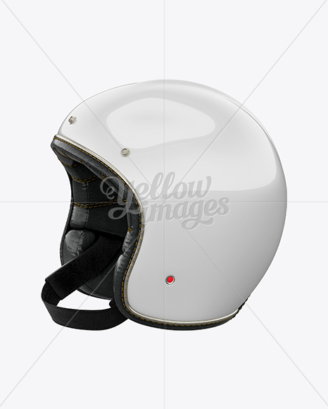 Download Ski Helmet Mockup Front View Yellow Images