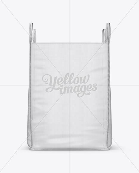 FIBC Big Bag Mockup - Front View
