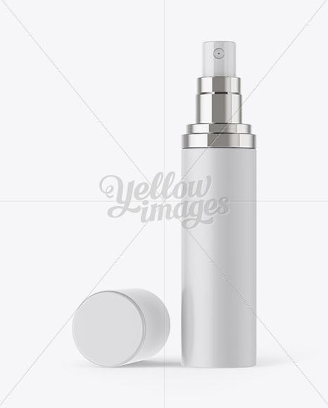 Download Matte Cosmetic Sprayer Bottle Mockup PSD - Free PSD Mockup Templates