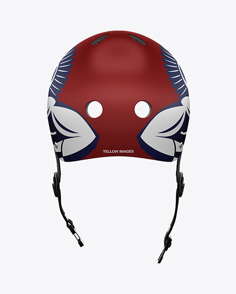 Download Ski Helmet Mockup Front View Yellowimages