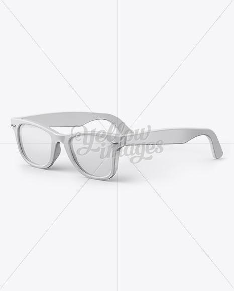Sunglasses Mockup - Half Side View