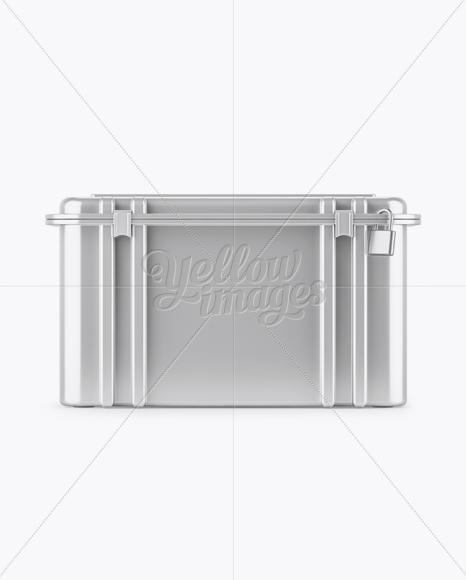 Metallic Hard Case Mockup - Front View