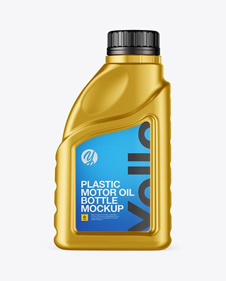 Download Metallic Motor Oil Bottle Mockup Object Mockups