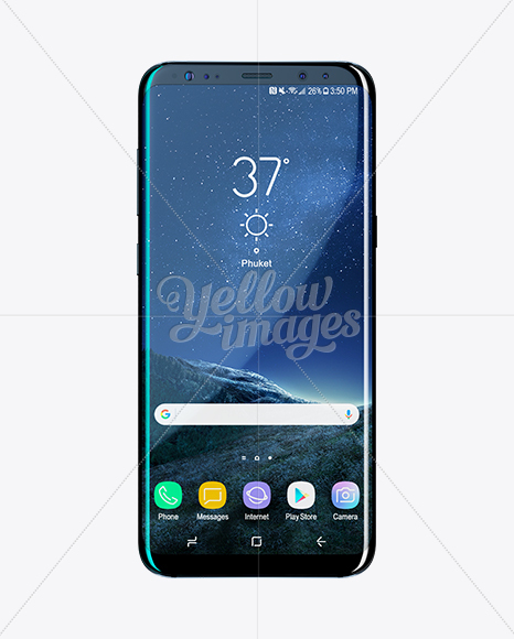 Samsung Galaxy S8+ Front & Back Views