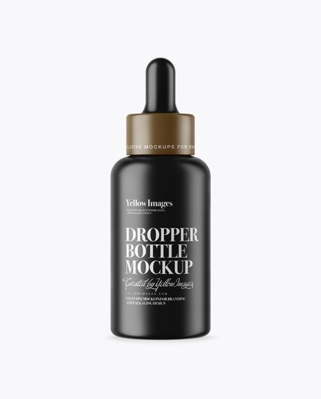Download Dropper Bottle Mockup Psd Free PSD - Free PSD Mockup Templates