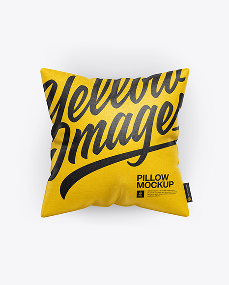 Download Square Pillow Mockup Object Mockups
