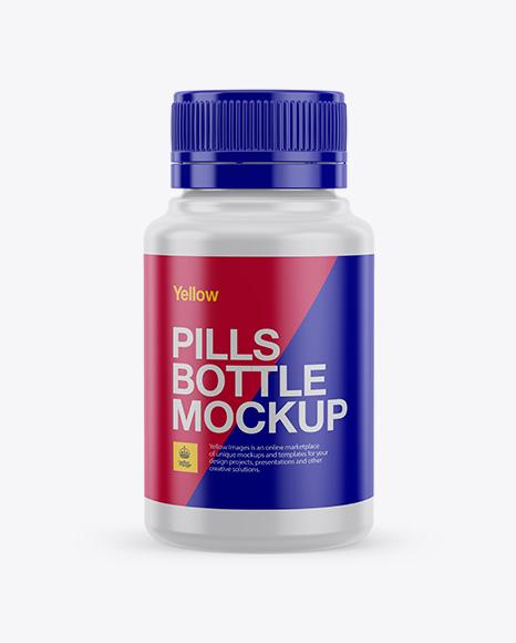 Download Plastic Pill Bottle Mockup Object Mockups