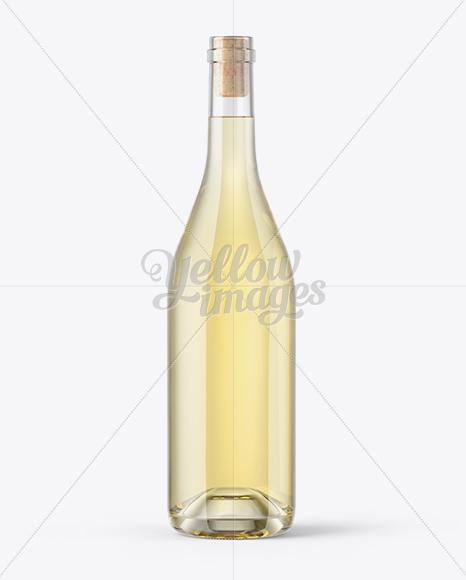 Download Green Glass Port Wine Bottle Mockup PSD - Free PSD Mockup Templates