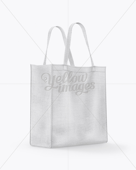White Tote Bag Mockup Free