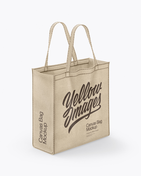 Canvas Bag Mockup