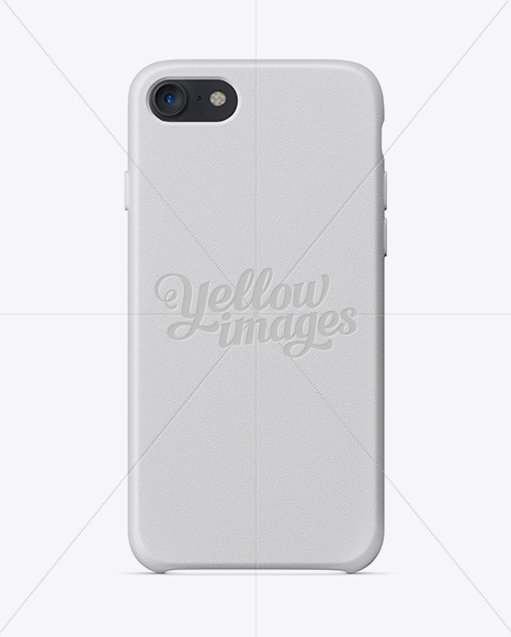 Download Iphone 7 Leather Case Mockup In Object Mockups On Yellow Images Object Mockups PSD Mockup Templates