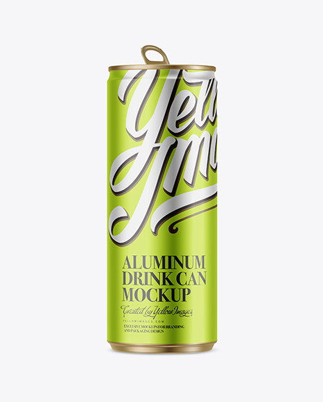 250ml Glossy Aluminium Can