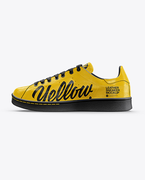 Download Sneaker Mockup Free Yellowimages