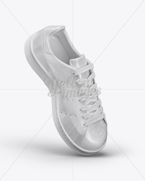 Download Sneaker Mockup Right Half Side View Yellowimages