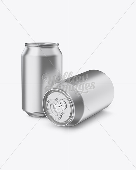 Download Kraft Carrier 4 Glossy Cans Mockup Half Side View PSD - Free PSD Mockup Templates