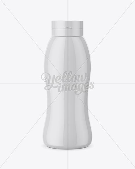 500ml Ketchup Bottle Mockup