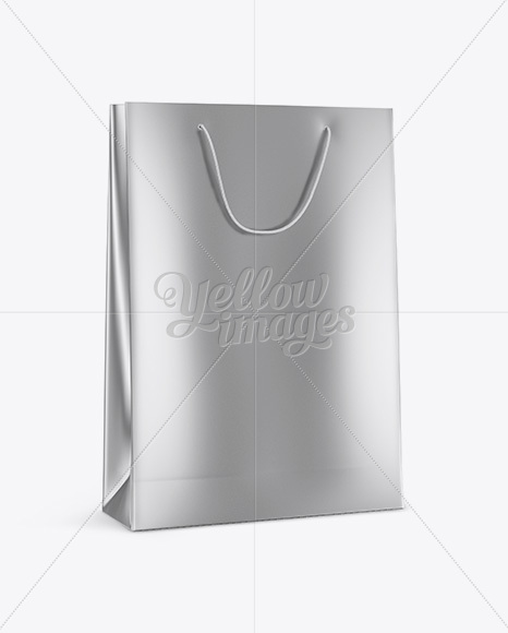 Download Kraft Shopping Bag With Rope Handle Mockup Halfside View PSD - Free PSD Mockup Templates