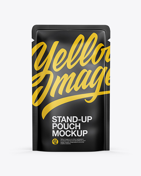 Download Matte Stand-up Pouch Mockup Object Mockups