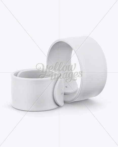 Download Silicone Wristband Mockup Yellow Images