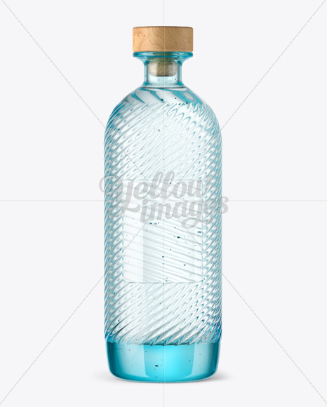 Vodka Bottle Mockup