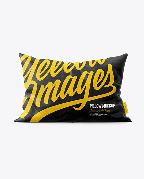 Download Pillow Mockup - Front View Object Mockups
